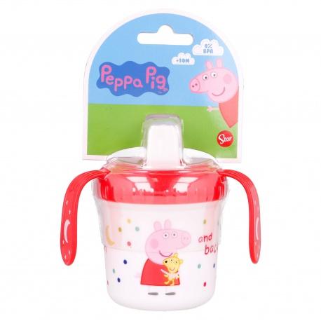 Tréningový termo hrnček s plastovým náustkom PEPPA PIG, 250ml, 13485