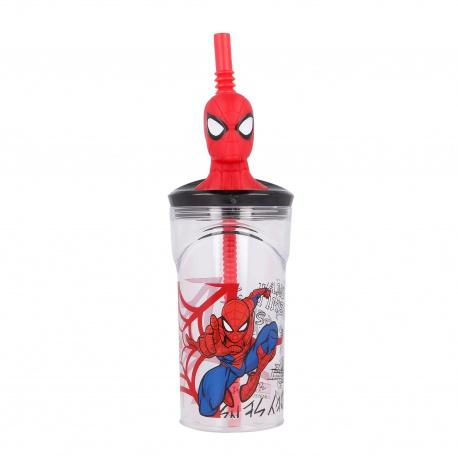 Plastový 3D pohár s figúrkou SPIDERMAN, 360ml, 51366