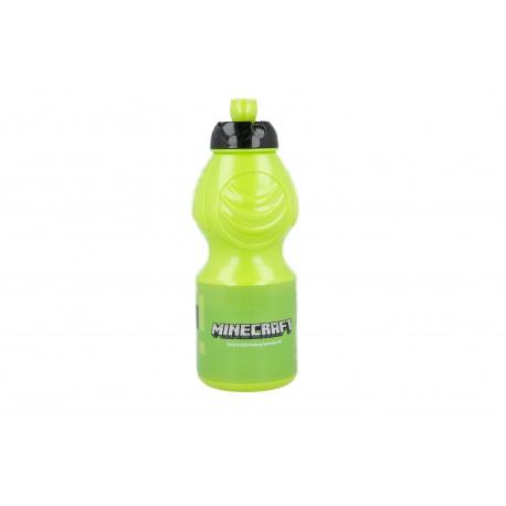 Plastová fľaša  MINECRAFT 400ml, 40432