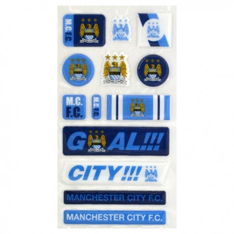 3D Samolepky MANCHESTER CITY Bubble (3693) FOREVER COLLECTIBLES MNC1966