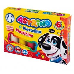 ASTRINO Školská plastelína 6 farieb, 303221001