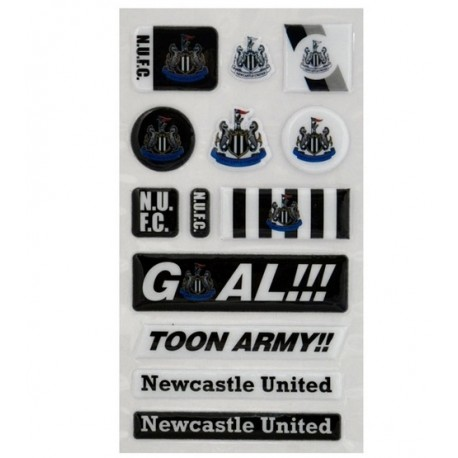 3D Samolepky NEWCASTLE UTD Bubble FOREVER COLLECTIBLES NEW1995