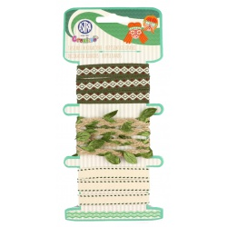 CREATIVO Dekoračné šnúrky HIPPIE BANDS, 3 x 2m, 335121014