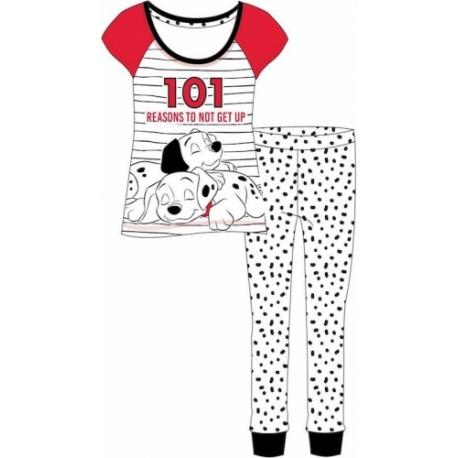 Dámske bavlnené pyžamo 101 DALMATIÍNCOV - L (large)