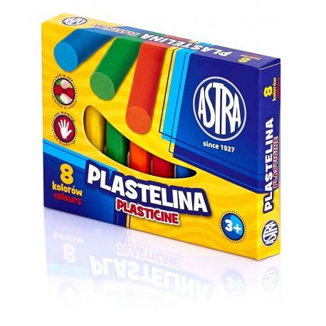 ASTRA Plastelína základná 8 farieb, 83814902