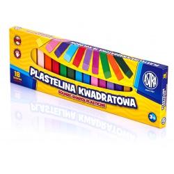 ASTRA Plastelína hranatá 18 farieb, 83814904