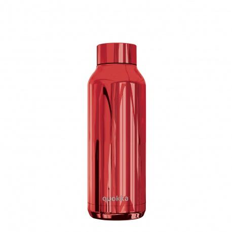 QUOKKA Nerezová fľaša / termoska SLEEK RUBY, 510ml, 57503