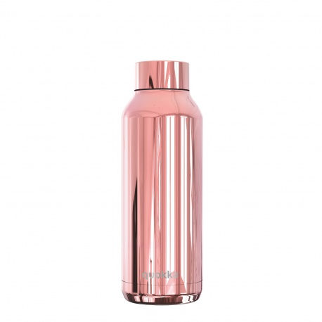 QUOKKA Nerezová fľaša / termoska SLEEK ROSE GOLD, 510ml, 57502