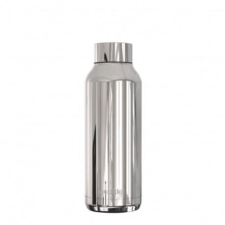 QUOKKA Nerezová fľaša / termoska SLEEK SILVER, 510ml, 57500