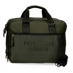 """Taška na notebook 15,6"""" PEPE JEANS® Bromley Green / Zelená, 7166622"""