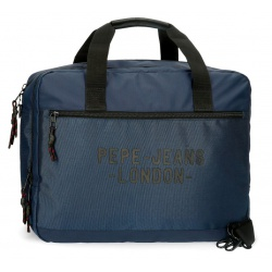 "Taška na notebook 15,6"" PEPE JEANS® Bromley Blue / Modrá, 7166623"