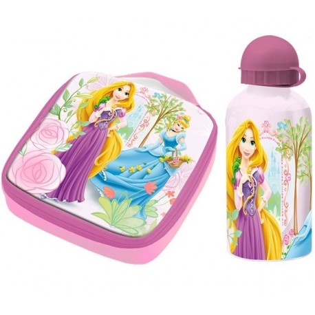 Termo taška / box na desiatu + ALU fľaša 400ml DISNEY PRINCESS KIDS LICENSING® DPR0985