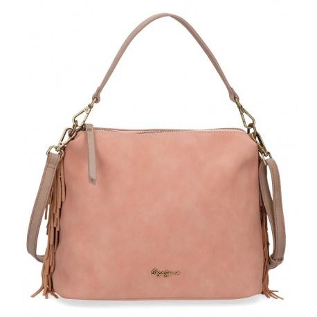 Dámska kabelka PEPE JEANS® FRINGE Pink / Ružová, 7767163
