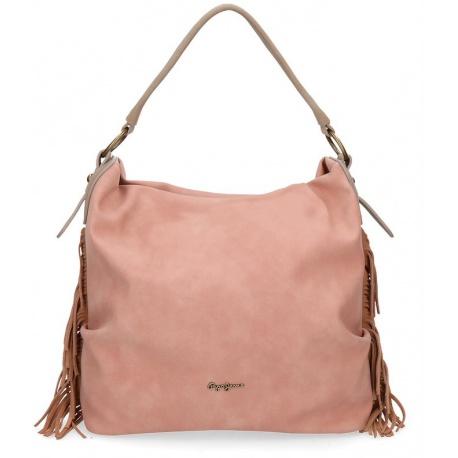 Dámska kabelka PEPE JEANS® FRINGE Pink / Ružová, 7767663