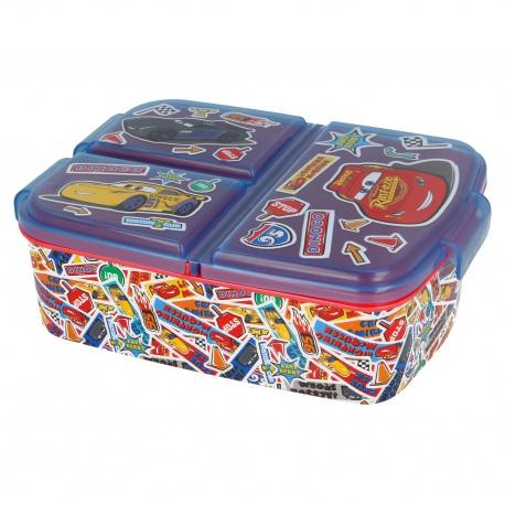Delený plastový box na desiatu DISNEY CARS, 51520