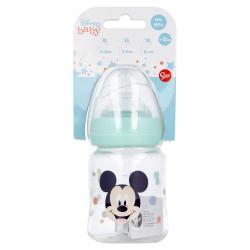 Dojčenská fľaša MICKEY MOUSE, 0+, 150ml, 13001