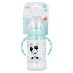 Dojčenská fľaša s rúčkami MICKEY MOUSE, 360ml, 10+, 13004