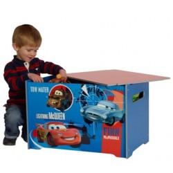Drevený box na hračky DISNEY CARS (4349)