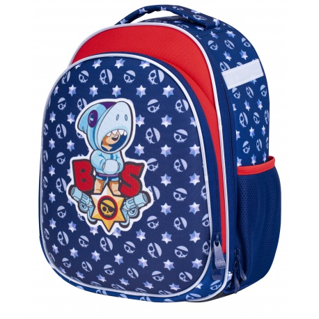 Anatomická školská taška / batoh BRAWL STARS Leon Shark, AS1, 501021017