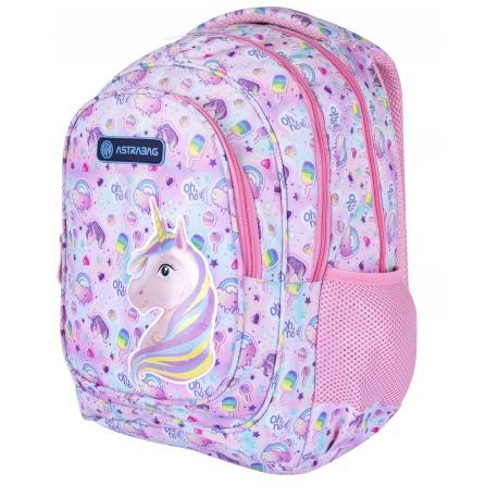 Školský batoh pre prvý stupeň UNICORN, AB330, 502021004