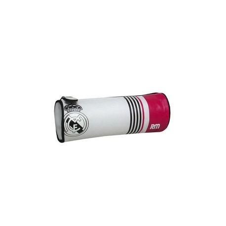 Okrúhly peračník na zips REAL MADRID Pink Stripe CyP IMPORTS REA1747