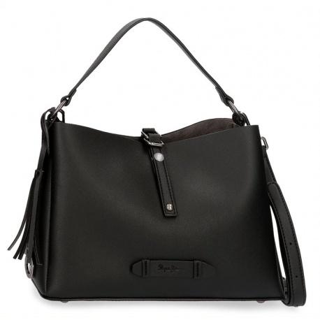 Dámska kabelka 2v1 PEPE JEANS® ANGELICA Black / Čierna, 7025421