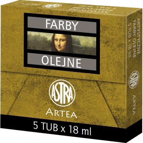 ARTEA Olejová farba Profi 18ml, Black / Čierna, 83410952