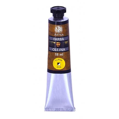 ARTEA Olejová farba Profi 18ml, Cadmium Lemon / Kadmiová Žltá Citrónová, 83410954