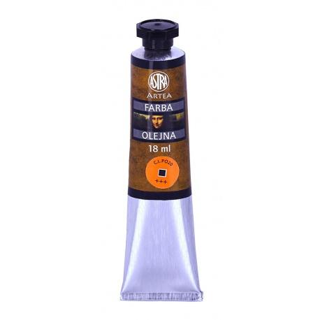 ARTEA Olejová farba Profi 18ml, Cadmium Orange Yellow /Kadmiová Žltá Pomarančová, 83410959