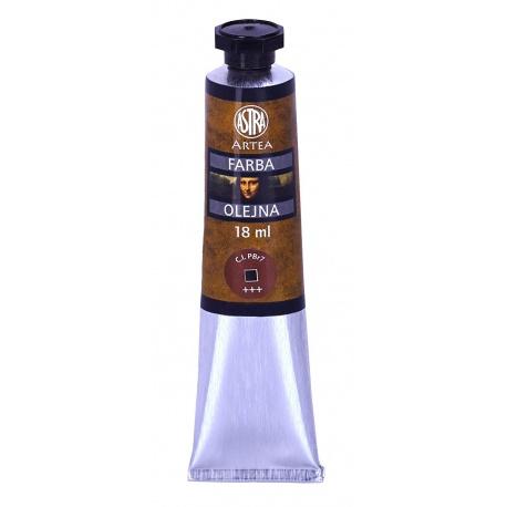 ARTEA Olejová farba Profi 18ml, Burnt Sienna / Okrová Spálená, 83410961