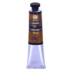 ARTEA Olejová farba Profi 18ml,Burnt Umber / Hnedá Spálená, 83410968