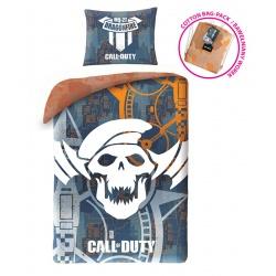 HALANTEX Bavlnené obliečky vo vrecúšku CALL OF DUTY,140/200+70/90, COD5530BL