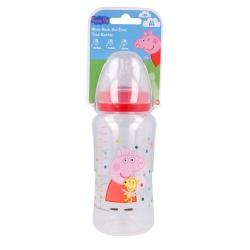 Dojčenská fľaša PEPPA PIG, 0+, 360ml, 13403