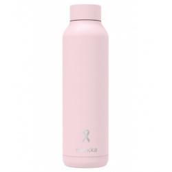 QUOKKA Nerezová fľaša / termoska X GEICAM PINK, 630ml, 40911