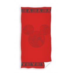 CARBOTEX Bavlnená osuška 70/140cm MINNIE MOUSE Red, MNN207003