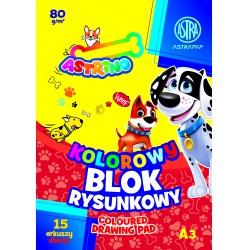 ASTRINO farebné papiere  A4, 10 listov, 170g/m2, mix motívov, 106021013