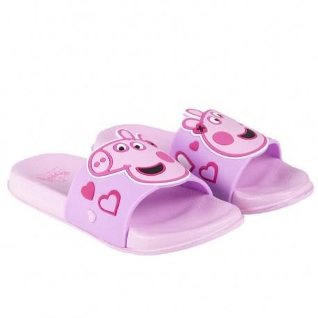 Detské šľapky PEPPA PIG ružové, 2300004755 - 22/23