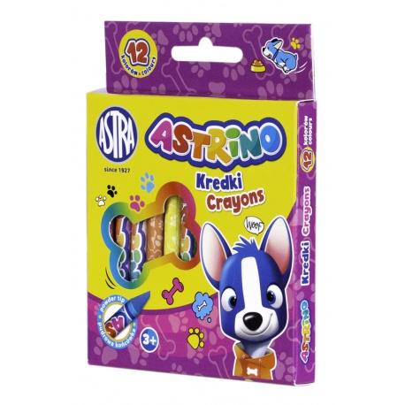 ASTRINO Detské grafitové farbičky bez dreva, sada 12ks, 316121001