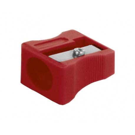 ASTRINO Školské ergonomické trojhranné farbičky JUMBO 6ks + strúhadlo, 312115003