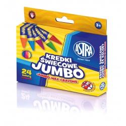 ASTRA Voskové farbičky Jumbo 24ks, 316118006
