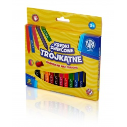 ASTRA Voskové farbičky Trojhranné 12ks, 316118001
