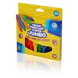 ASTRA Voskové farbičky  Super Jumbo 8ks, 316118002