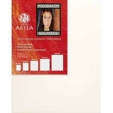 ARTEA Maliarske plátno na ráme, 40x50cm, 801106003
