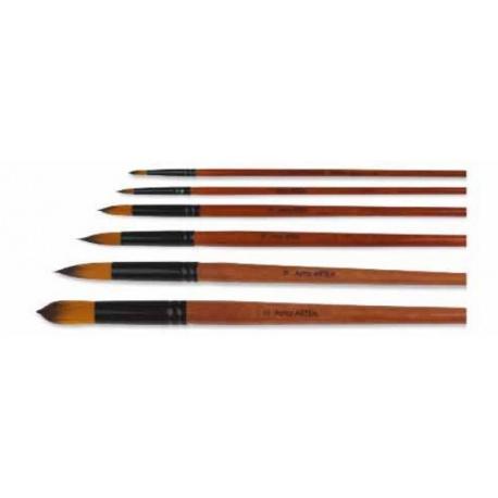 ARTEA Profesionálny štetec pre umelcov, okrúhly, veľkosť 6, 315120005