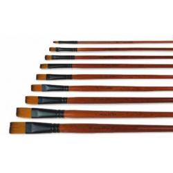ARTEA Profesionálny štetec pre umelcov, plochý, veľkosť 4, 315120016
