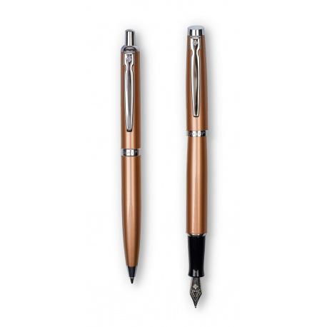 ZENITH Elegance, Luxusná sada / Guľôčkové pero 0,8mm + Plniace pero, krabička, 7600204