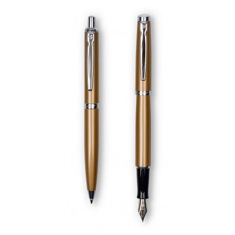 ZENITH Elegance, Luxusná sada / Guľôčkové pero 0,8mm + Plniace pero, krabička, 7600203