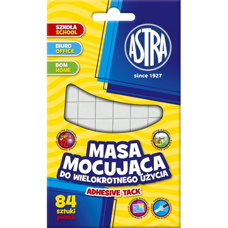 ASTRA Lepiaca guma 84 štvorčekov, 401114004