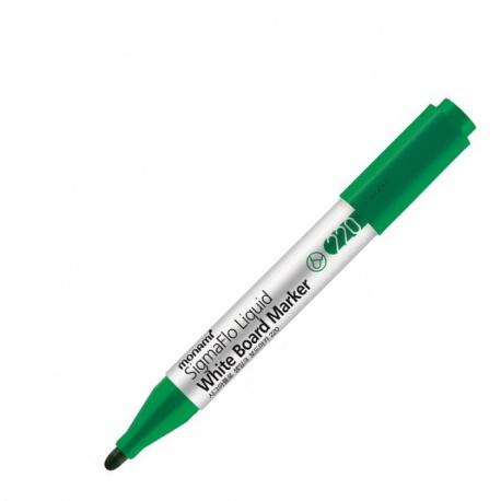 MONAMI® Popisovač na biele tabule SigmaFlo 220, 2mm, Zelený, 2080151522