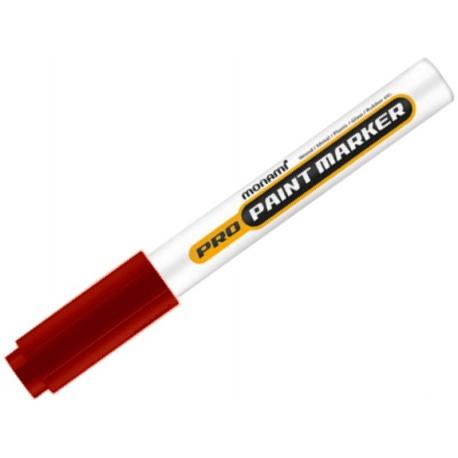 MONAMI® Permanentný priemyselný popisovač ProPaint, 2mm, Červený, 2080151042